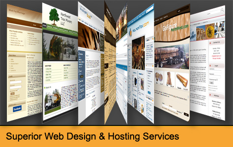 Webpage Design & Hosting Services